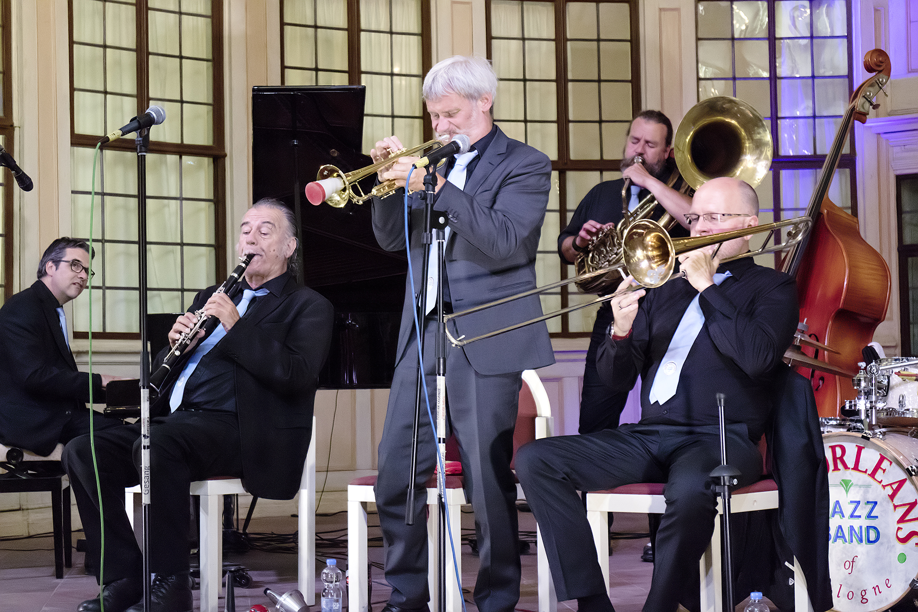 New Orleans Jazzband front
