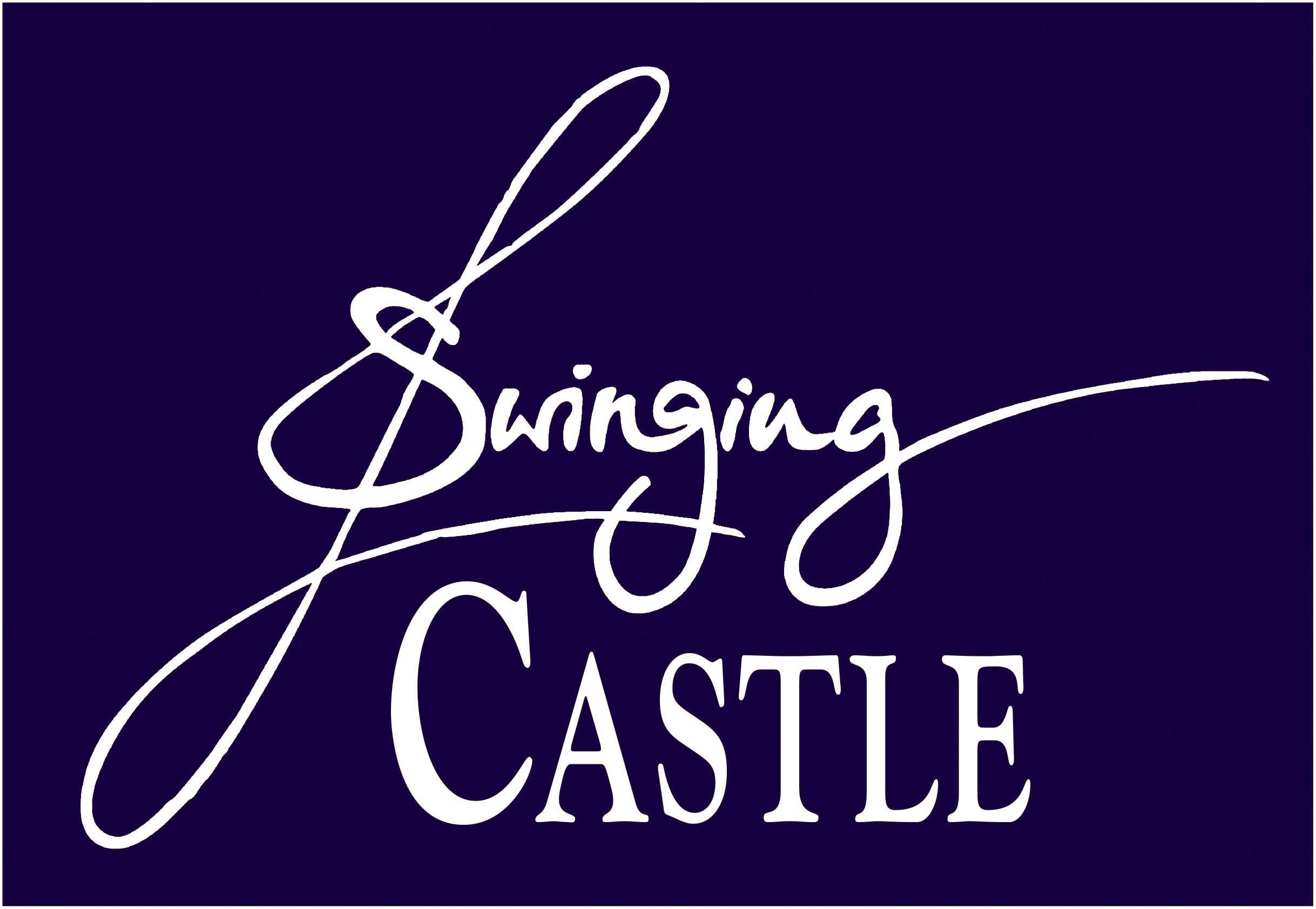 Swinging Castle LOGO BLAU II